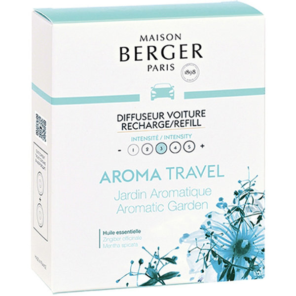 Maison Berger Maison Berger Auto Parfum Navulling Aroma Travel