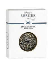 Maison Berger Paris Maison Berger Auto Parfum Losse Diffuser - Graphic nickel mat