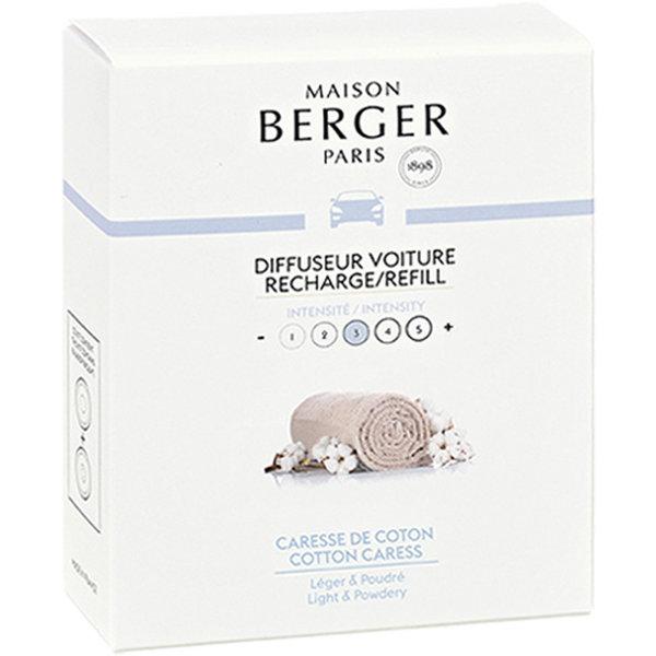 Maison Berger Maison Berger Auto Parfum Navulling Caresse de Coton