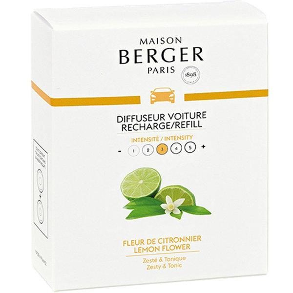 Maison Berger Maison Berger Auto Parfum Navulling Fleur de Citronnier