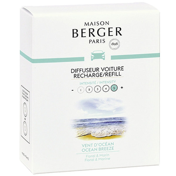 Maison Berger Maison Berger Auto Parfum Navulling Vent d'Océan