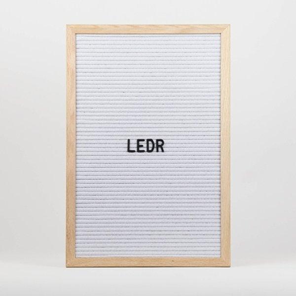 LEDR LEDR Letterboard 30x45 Wit