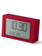 Lexon Lexon Slide Clock Red
