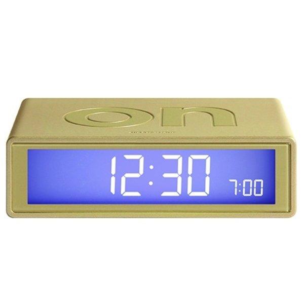 Lexon Lexon Flip CLOCK 2 lcd - Gold