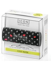Millefiori Milano Millefiori Milano Auto Parfum Cold Water (Cuori & Fiori)