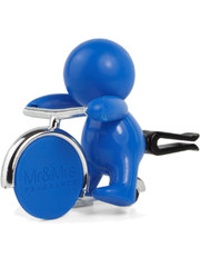 Mr & Mrs Fragrance Mr&Mrs Fragrance Autoverfrisser Gino Caribbean Sea Lichtblauw