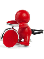 Mr & Mrs Fragrance Mr&Mrs Fragrance Autoverfrisser Gino Peppermint Rood