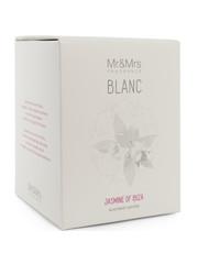 Mr & Mrs Fragrance Mr&Mrs Fragrance Geurkaars Blanc Jasmine of Ibiza 250gr