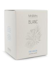 Mr & Mrs Fragrance Mr&Mrs Fragrance Geurkaars Blanc Pure Amazon 250gr