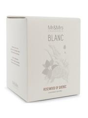 Mr&Mrs Fragrance Mr&Mrs Fragrance Geurkaars Blanc Rosewood of Quebec 250gr