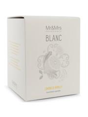 Mr & Mrs Fragrance Mr&Mrs Fragrance Geurkaars Blanc Limoni di Amalfi 250gr