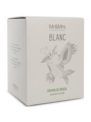 Mr & Mrs Fragrance Mr&Mrs Fragrance Geurkaars Blanc Papaya do Brasil 250gr