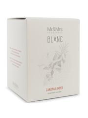 Mr & Mrs Fragrance Mr&Mrs Fragrance Geurkaars Blanc Zanzibar Ambre 250gr