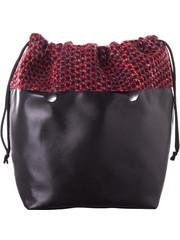 Fullspot Fullspot O bag Mini Binnentas Strings Rood