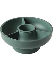 OMMO Ommo Hoop 2 - Serveerschaal Olive