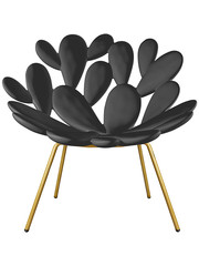Qeeboo Qeeboo Filicudi Chair Black-Brass