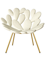Qeeboo Qeeboo Filicudi Chair White-Brass