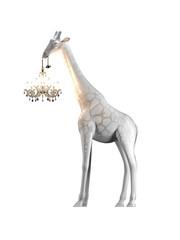 Qeeboo Qeeboo Giraffe in Love M White