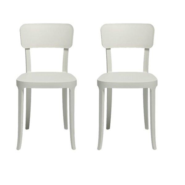 Qeeboo Qeeboo K Chair White Set van 2