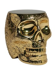 Qeeboo Qeeboo Mexico Krukje / Bijzettafel - Metallic Gold