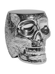 Qeeboo Qeeboo Mexico Krukje / Bijzettafel - Metallic Silver