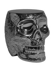 Qeeboo Qeeboo Mexico Krukje / Bijzettafel - Metallic Titanium