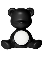 Qeeboo Qeeboo Teddy Girl LED lamp - Black