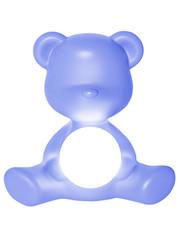 Qeeboo Qeeboo Teddy Girl LED lamp - Light Blue