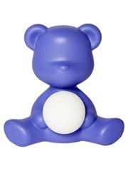 Qeeboo Qeeboo Teddy Girl LED lamp - Violet