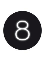 Seletti Seletti Neon verlichting cijfer 8
