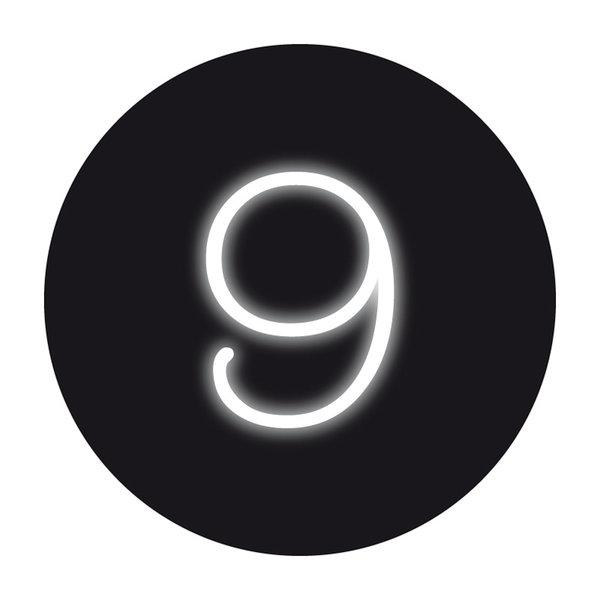 Seletti Seletti Neon verlichting cijfer 9
