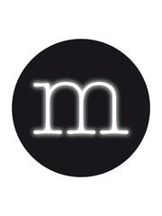 Seletti Seletti Neon verlichting letter m