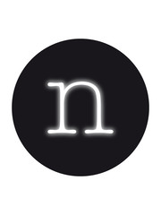 Seletti Seletti Neon verlichting letter n