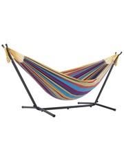 Vivere Vivere Combo - Dubbele Hangmat met Standaard - Tropical