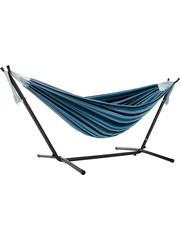 Vivere Vivere Combo - Dubbele Hangmat met Standaard - Blue Lagoon