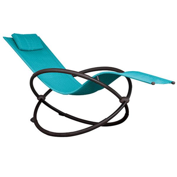 Vivere Vivere Orbital Lounger Turquoise
