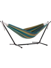 Vivere Vivere Sunbrella - Hangmat met Standaard 250 cm - Lagoon