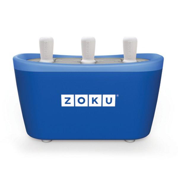 ZOKU Zoku Quick Pop Maker Triple Blauw