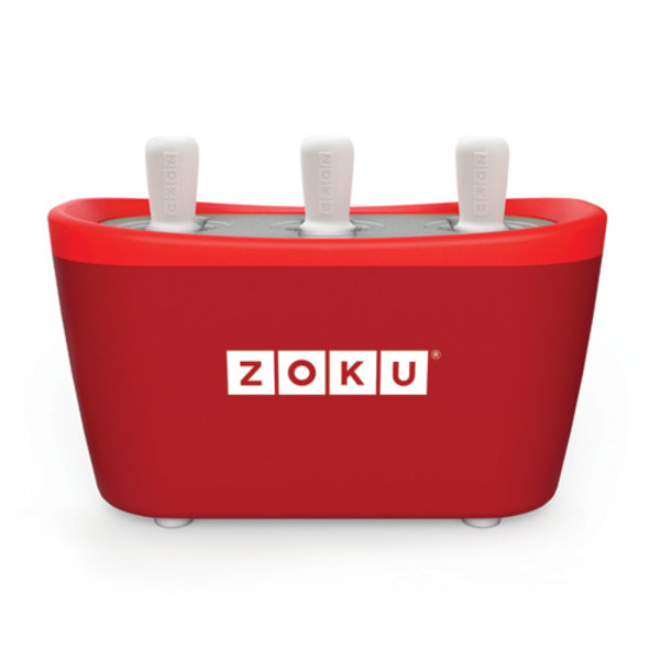 ZOKU Zoku Quick Pop Maker Triple Rood