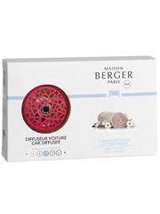 Maison Berger Paris Maison Berger Auto Parfum Diffuser Caresse de Coton - Framboise