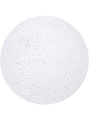 Cotton Ball Lights Cotton Ball Lights White klein