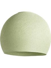 Cotton Ball Lights Cotton Ball Lights lamp Driekwart Powder Green