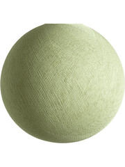 Cotton Ball Lights Cotton Ball Lights lamp Powder Green