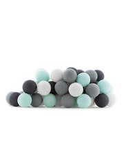 Cotton Ball Lights Cotton Ball Lights lichtslinger Aqua Grey