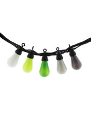 Lubanida Lubanida Outdoor Buitenslinger Patio Light Edison Shape Green Grey