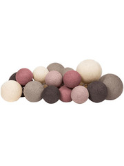 Cotton Ball Lights Cotton Ball Lights lichtslinger Premium Velvet Pinks
