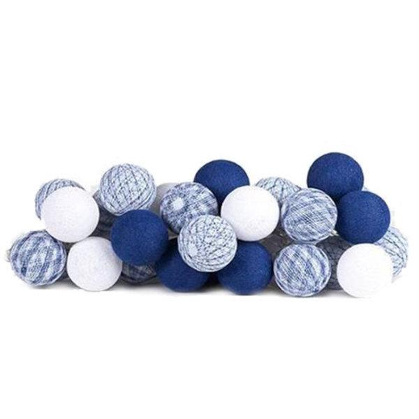 Cotton Ball Lights Cotton Ball Lights lichtslinger Delfts Blue