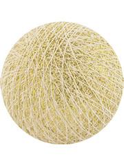 Cotton Ball Lights Cotton Ball Lights Sparkling Gold/Shelll klein