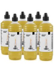 Höfats Höfats Bio-ethanol Brandstoffles 1 Liter Set van 6 Stuks voor Tafelvuur Spin