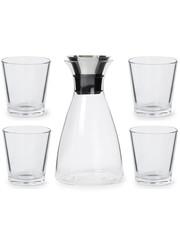 Eva Solo Eva Solo Karaf 1 liter met 4 Glazen 250 ml